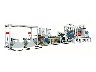 高产量电脑控制单层PPPS片材生产线